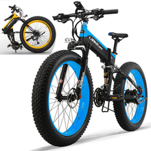 X OEM 26″ 48V 1000W Mountain Exercise Electric Bicycle electric bike LCD Speedometer Dual Hydraulic Disc Brake