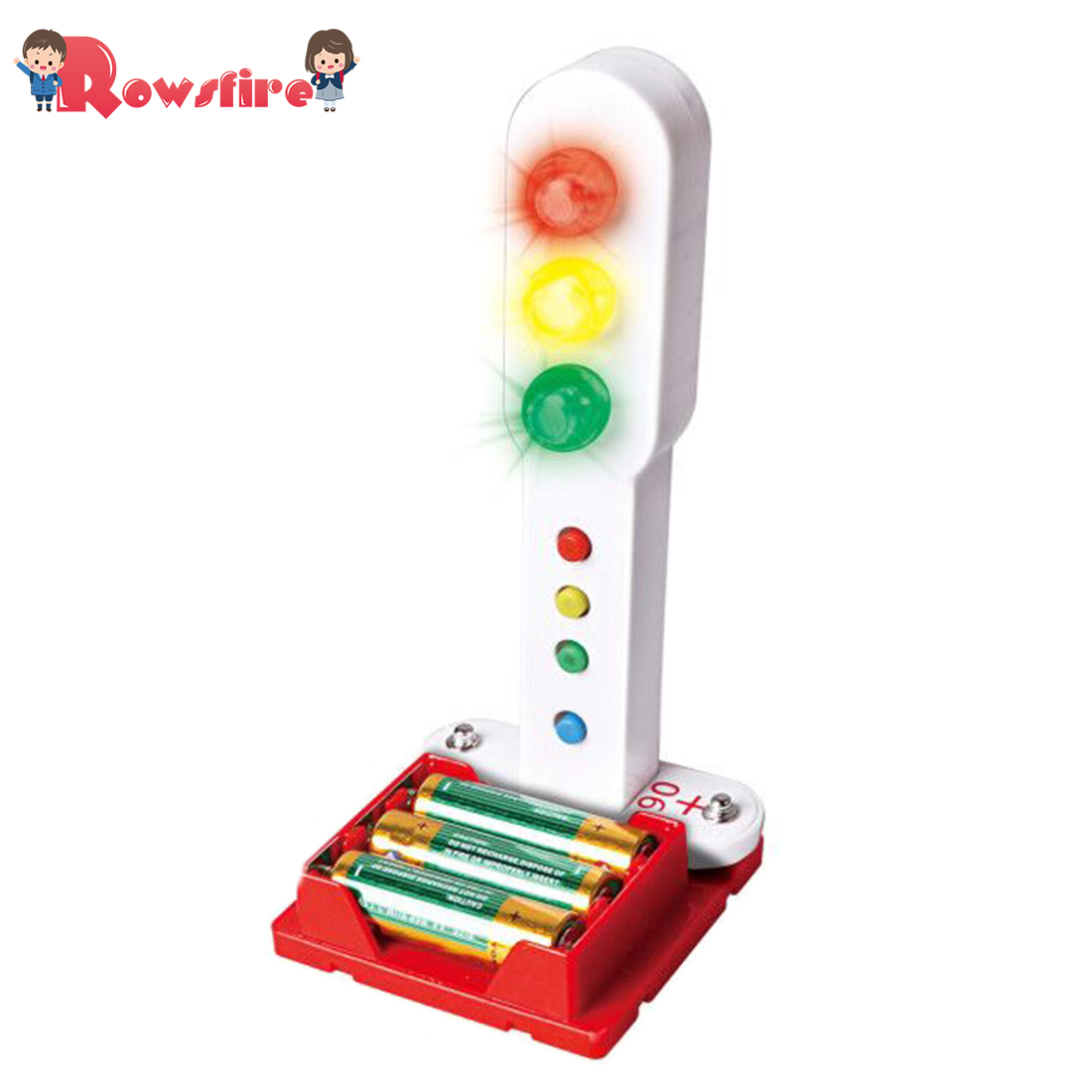 DIY Programmable Traffic Lights Electronic Circuits Science Experiment Kit For Children - Pagoda + Christmas Tree
