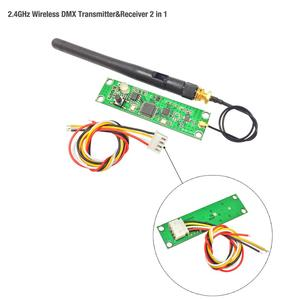 Image 4 - Promotion!!! factory outlets 5pcs/lot Wireless DMX 512 Controller Transmitter&Receiver 2 in 1 PCB Module For DMX Stage Lighting