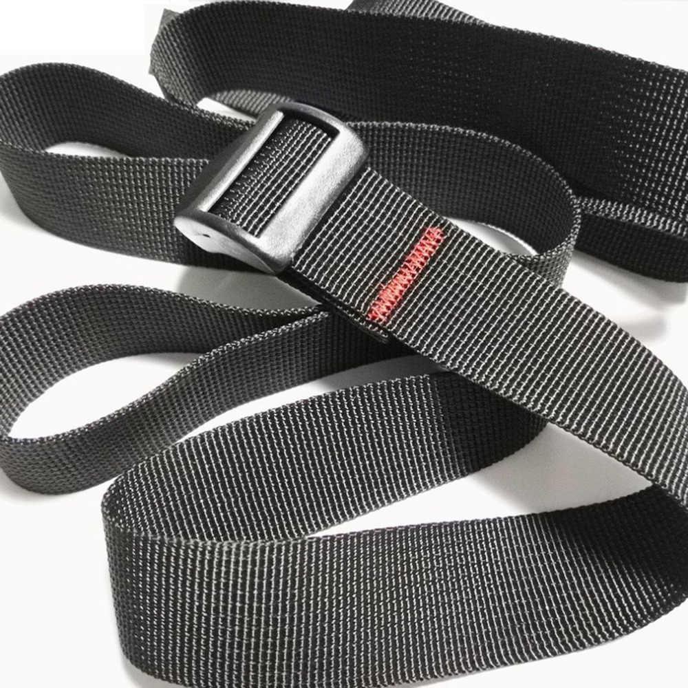 Diseño ajustable cuerda de tensión para el coche correa de enganche fuerte correa de trinquete bolsa de equipaje cinturón de cuerda de amarre de carga