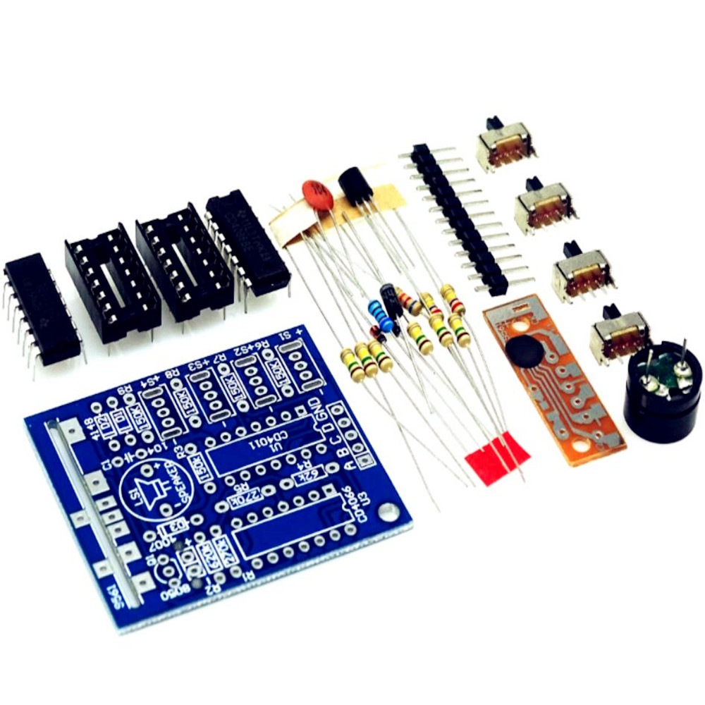 Taidacent Simple Diy Electronics Projects Sixteen Interesting Sounds Custom Mechanical Make Your Own Music Box Kit For Kids