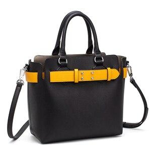 Image 3 - MIYACO Bolso de mano de piel suave para mujer, bolsos de calidad con asa, informales, con cinturón