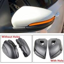 Dynamic Blinker For Volkswagen Golf MK6 for GTI 6 R line VI R20 LED Turn Signal Light Touran GTD Side Mirror indicator for VW