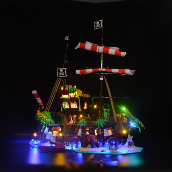 DIY LED Lighting Kit for IDEAS 21322 Model Building Block