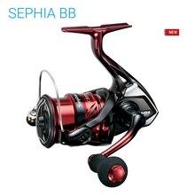 2018 الأصلي SHIMANO Sephia BB C3000S C3000SDH C3000SDHG 5 + 1BB X Ship والعتاد نظام المياه المالحة خفيفة الغزل بكرات الصيد عجلة