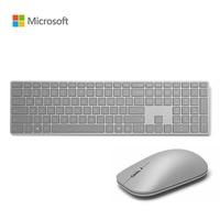 Microsoft Surface Wireless Keyboard Mouse Combos Metal Thin Bluetooth 4.0 English Keypad PC Computer