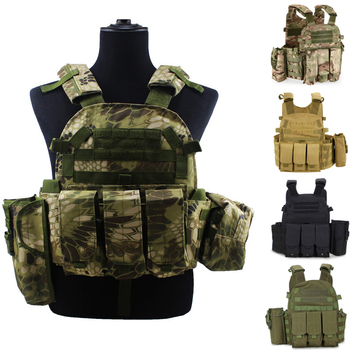Tactical Military Vest Body Armor Plate Carrier Vest Ammo Magazine Chest Rig Airsoft Paintball Molle Vests usmc military airsoft paintball vest body armor molle combat plate carrier tactical vest outddor hunting clothes