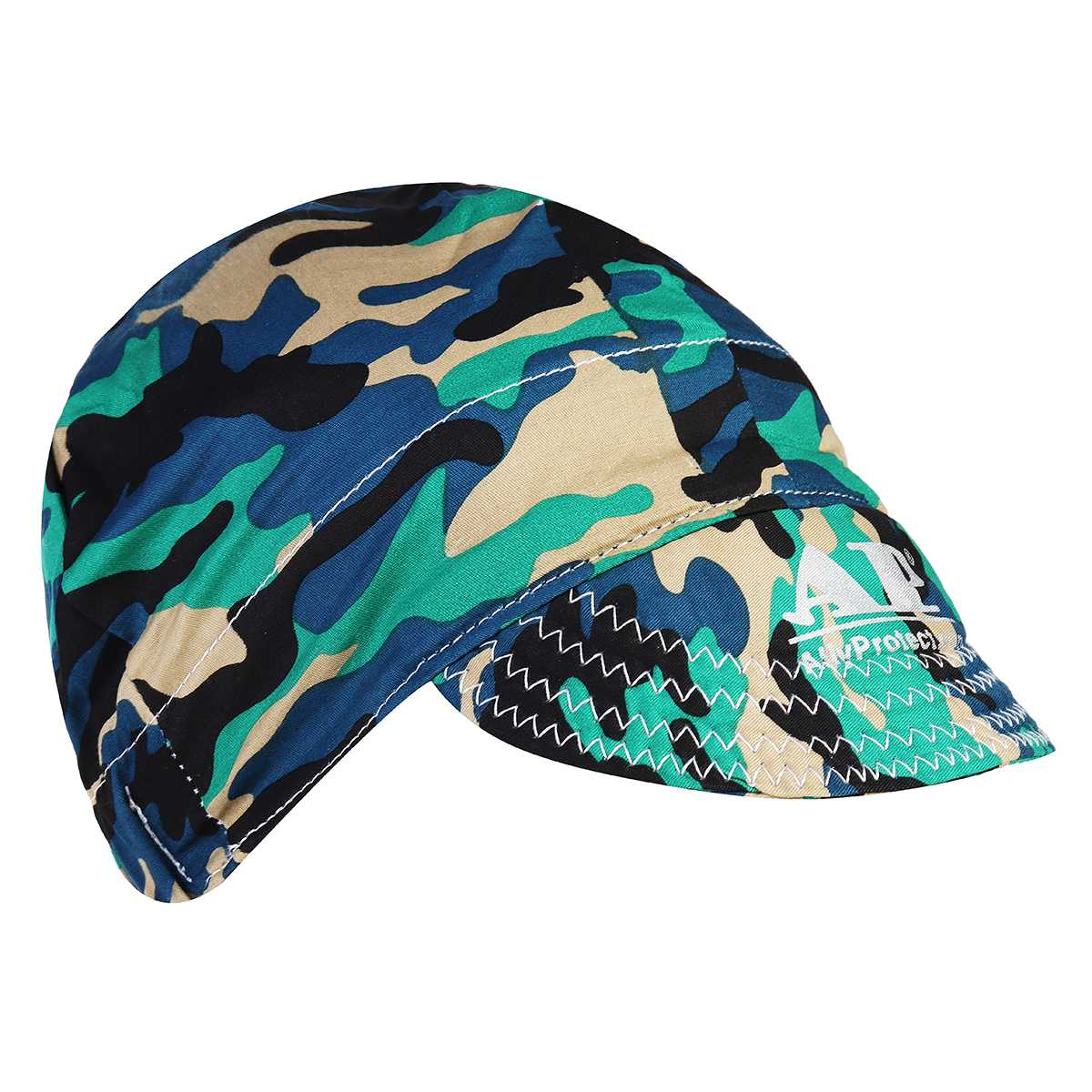 Welding Helmets Comfortable Adjustable Elastic Sweat Absorption Cotton Army Camouflage Safety Protective Welder Hat Cap