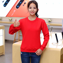 New Autumn/Winter Women Sweatshirt Casual Long Sleeve Soild Colors Pullover Hoodies Sweatshirts Leisure Sudaderas Mujer Top 2019