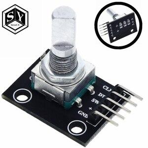 1 шт., поворотный модуль энкодера Grear IT на 360 градусов для Arduino, плата разработки переключателя датчика кирпича, Фотоэлементы с контактами ky 040
