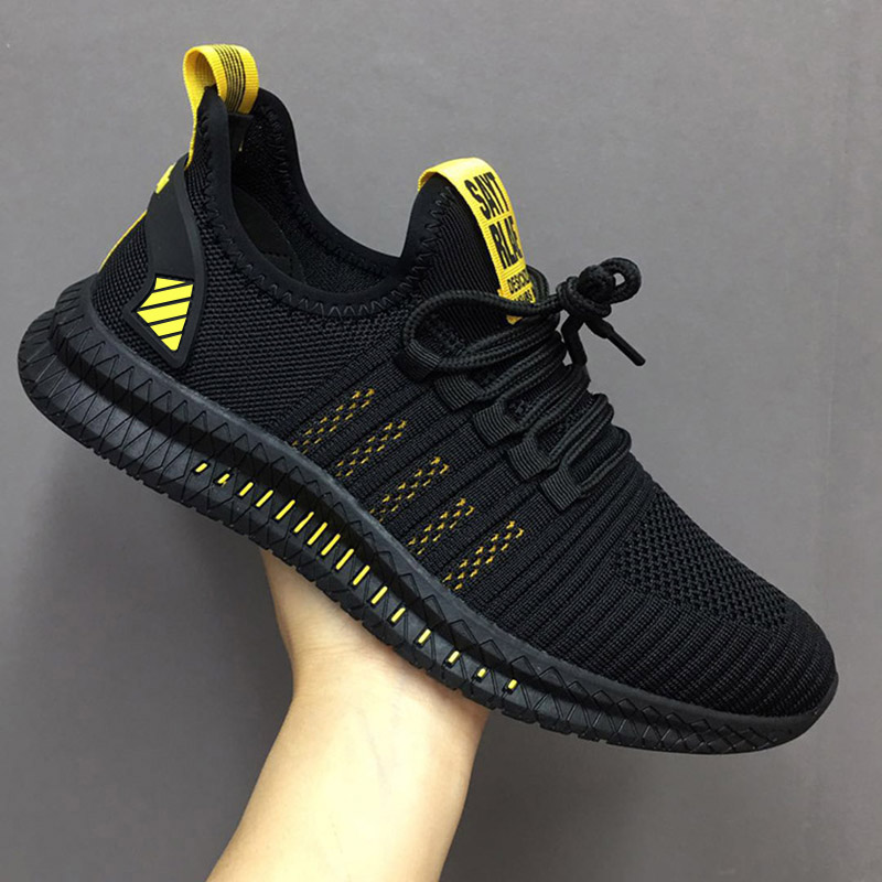 Sport Running Men Shoes Air Mesh Breathable Men Sneakers New Cushioning Casual Balck Shoes Lightweight Zapatillas De Deporte