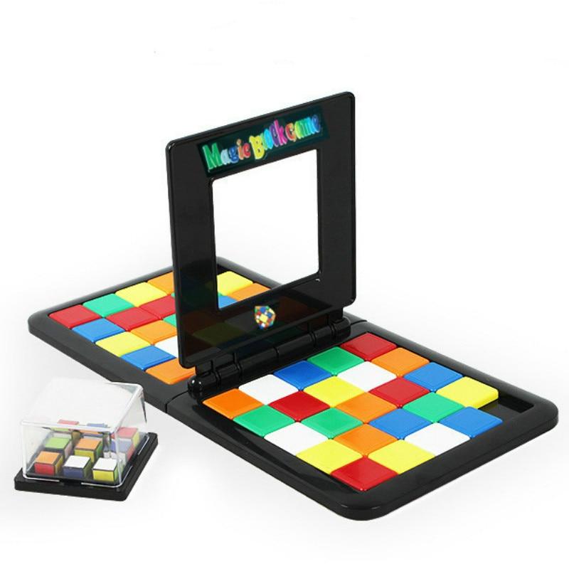 Puzzle Cube 3D Puzzle Race Cube Board Game Magic Cube Education Parent-child Activity Board Education Toy Speed Game Magic Cubes