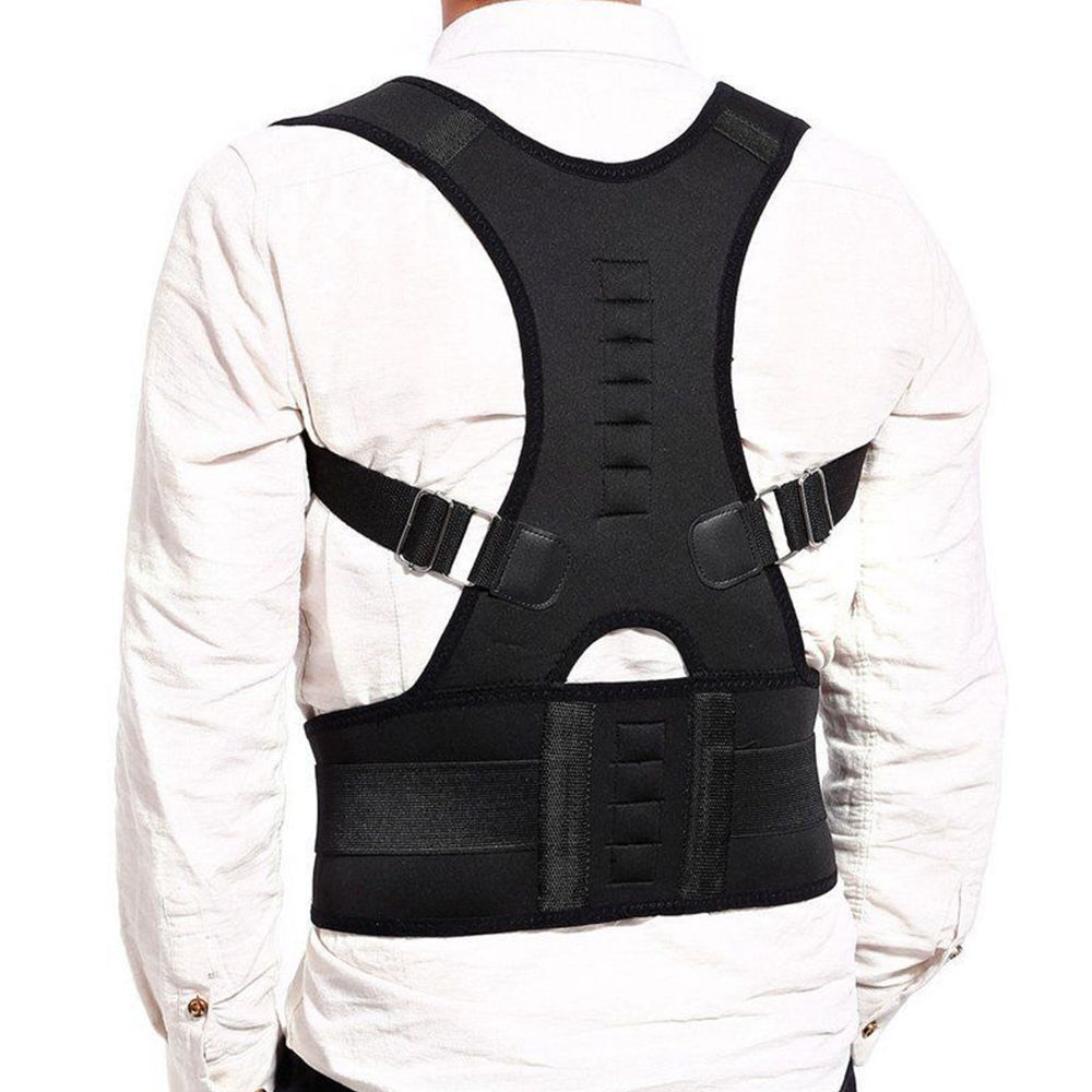 Magnet Hunchback Brace With Men And Women Back Good Magnet Therapy Back Correction Band Students Adult Belly Holding Useful Prod