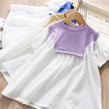 7039xTutu Embroidery Princess Baby Girl Dress 2020 Spring Party Wedding Easter Day Kid Dress For Girl Wholesale Child Clothes