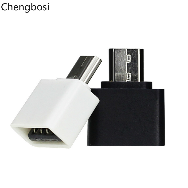 Chengbosi Mini OTG Cable USB OTG Adapter Micro USB To USB Converter For Tablet PC Android Mobile Phone Adapters