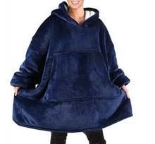 Большой ТВ одеяло толстовка с капюшоном ультра плюшевые мягкие