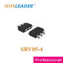 Mosleader SRV05 4 SOT23 6 1000 adet 3000 adet SRV05 4.TCT SRV05 5V tek yönlü polar ESD SRV05 çinde yapılan yüksek kaliteli