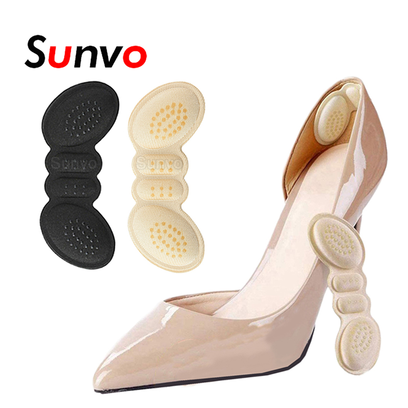 Shoes Heel Protector Pad for Women High Heels Size Reducer Adhesive Heel Liner Grip Pain Relief Foot Insert Shoe Sticker Cushion