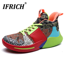 2020 Hot Men Basketball Trainers Breathable Women Basketball Shoes Anti-Slip Men Sneakers Brand Shoes Couples Basketball Boots boussac men basketball shoes for outdoor male ankle boots anti slip sport sneakers support stability mens trainers