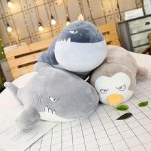 Новая подушка Акула морских животных плюшевые игрушки печать