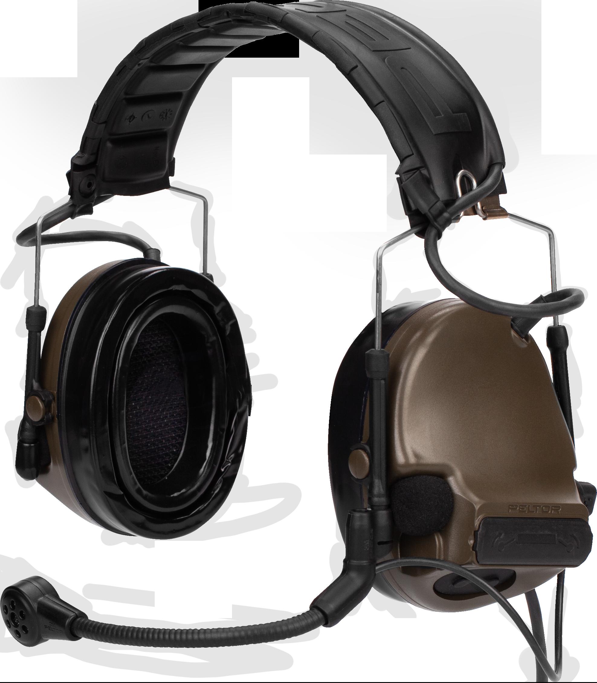 Купить с кэшбэком Tactical headset peltor COMTAC series military walkie-talkie headset replacement headband