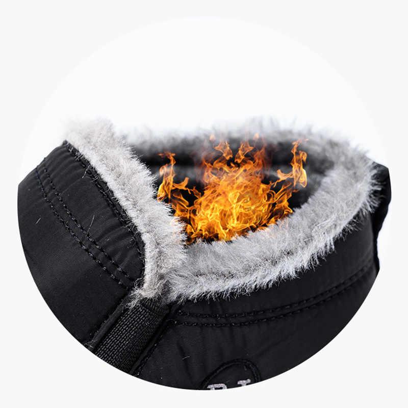 LAKESHI chaud hiver neige bottes femme bottines pour femmes chaussures hiver bottes hommes bottes chaussures imperméables velours court chaussons