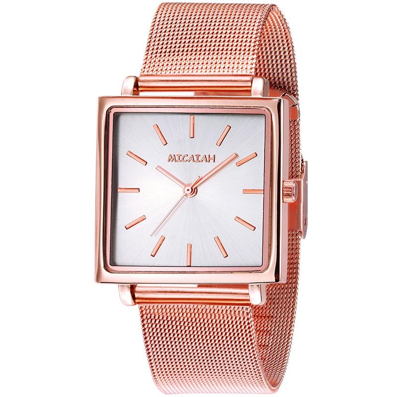 Women Watch Fashion Women's Quartz Sports Watch Waterproof Metal  Steel Belt Leisure Rose Gold Watch Gift Watch Relogio Feminino