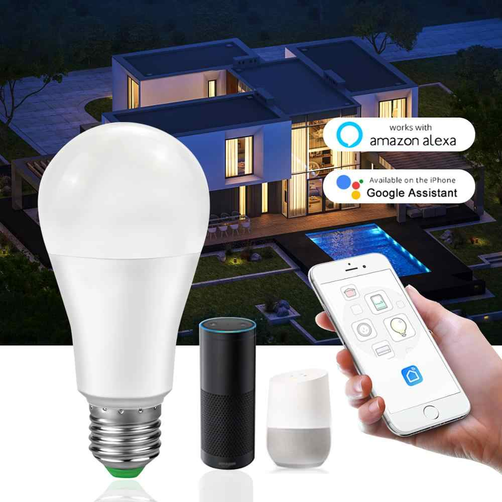 WiFi smart Home, Casa Intelligente HA CONDOTTO LA lampada E27 15W Vita Intelligente di illuminazione Della Lampadina di Dimmable APP Remote, controllo vocale Compatibile Alexa e Google Casa