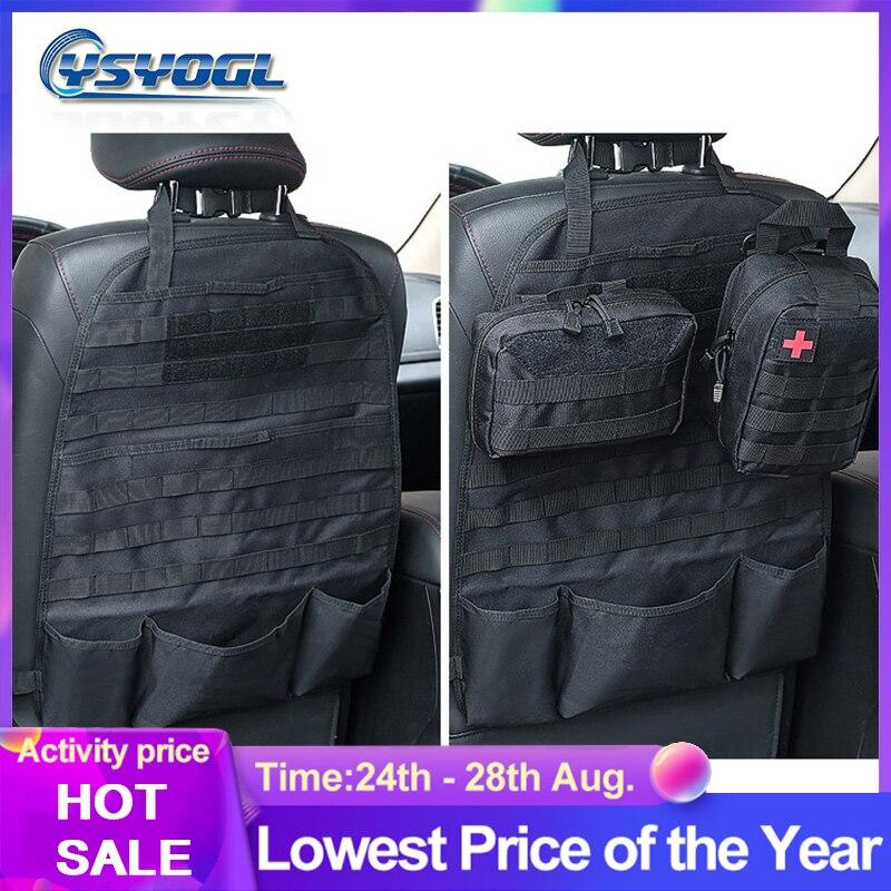 2020New универсальная сумка для задних сидений автомобиля, тактический Молл, органайзер для автомобильных сидений, нейлоновый органайзер для ...