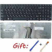 QH Ru Laptop Tastatur Für Lenovo Y500 Y510P Y500N Y500NT Schwarz Neue Russische-in Ersatz-Tastaturen aus Computer und Büro bei
