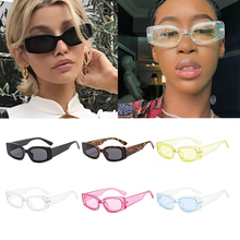 Wholesale Vintage Clear Frame Square Sunglasses For Women Fa
