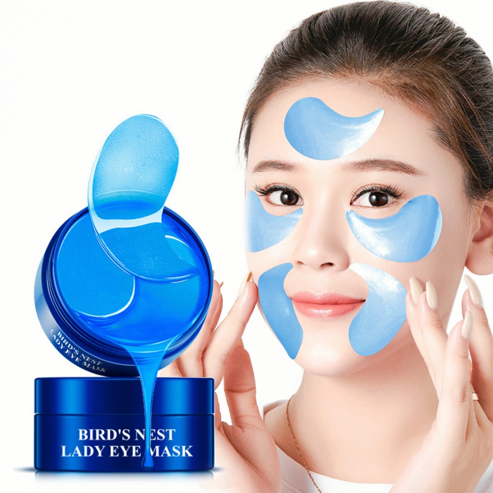 Collagen Eyes Mask 3 Color Eye Patches Dark Circle Remove Wrinkle Whitening Anti Aging Puffiness Bags Moisturizing Skin Care P