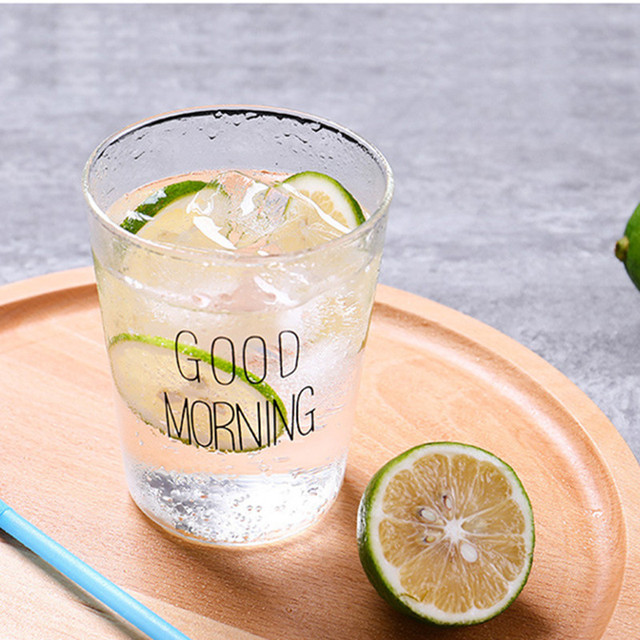 Mug en verre GOOD MORNING Tasses et Mugs Cocooning.net