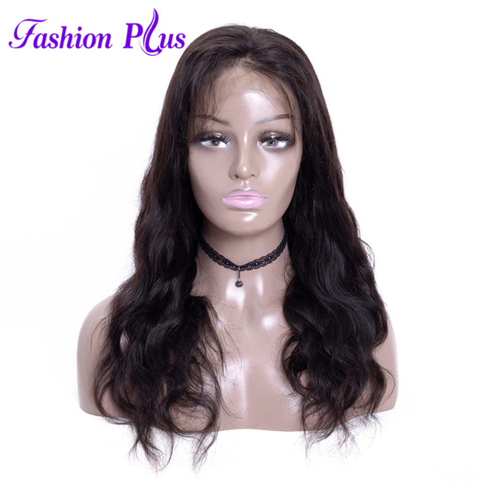Body Wave Remy Brazilian Hair Full Lace Human Hair Wigs For Black Women 150% Density 10inch-26inch Full Lace Wig With Baby Hair