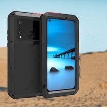 Kılıf Için Huawei Nova 4 Kapak Tam Vücut Koruma Zırhı Darbeye Dayanıklı Defender telefon kılıfı Metal Ağır koruma kapağı Nova 4