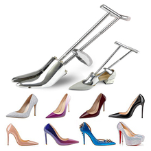여성을위한 전문 알루미늄 신발 들것 하이힐 신발 관리 용품