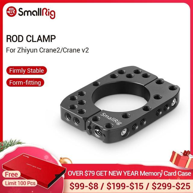 SmallRig מוט מהדק עבור Zhiyun Crane2/מנוף V2 עם 1/4  20 הליכי חורים Arri 3/8 נקודות מהיר שחרור מוט מהדק 2119