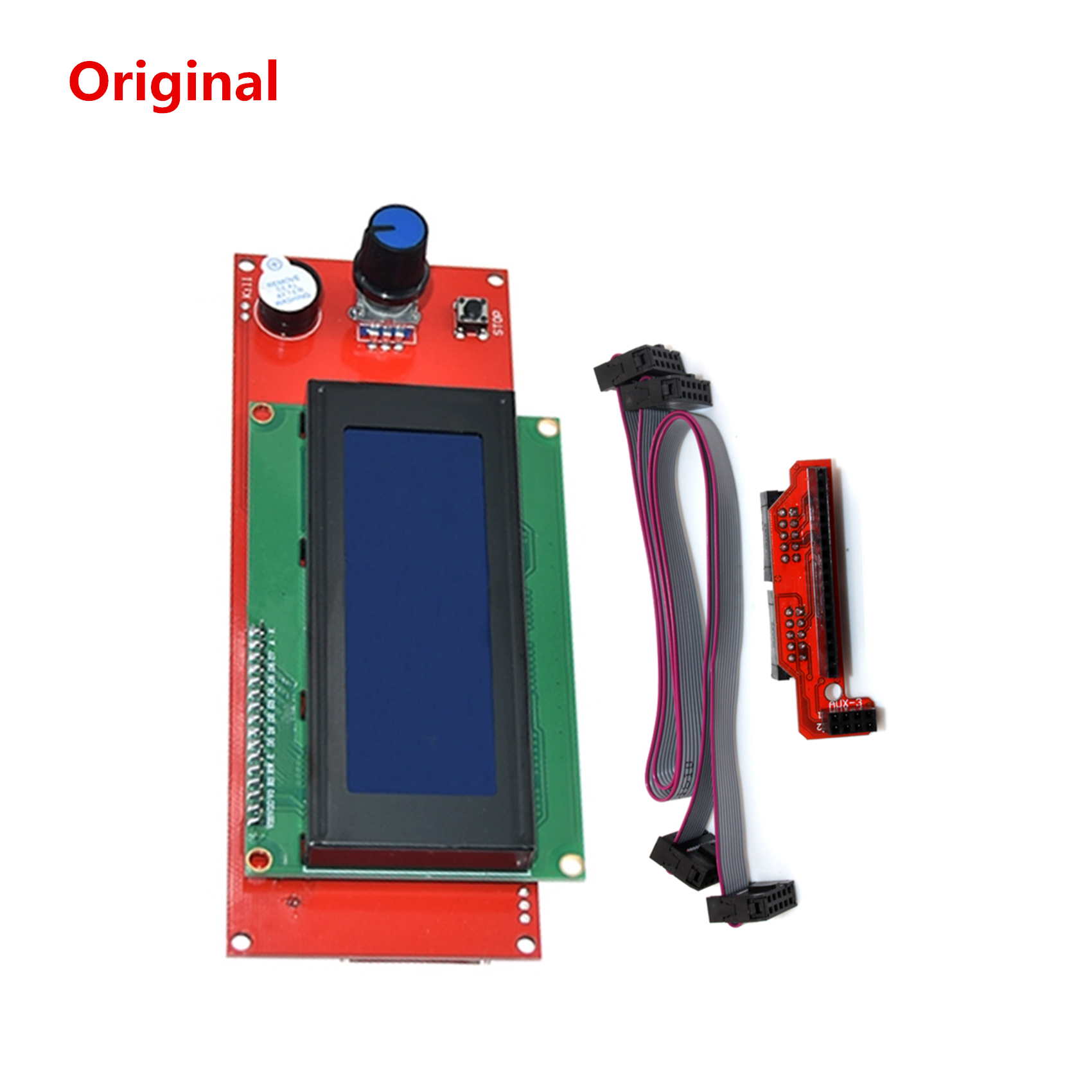 3D Printer Display Replacement Original LCD 2004 Screen Ramps 1.4 LCD Panel LCD2004 Unit Good Compatibility/durability/stability