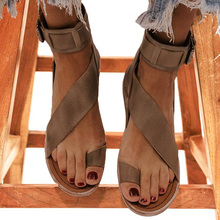 Women Sandals Soft Leather Flat Sandals For Summer