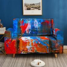 Graffiti art 3D printin Sofa Cover Mandala Pattern Sofa covers sofa towel Living Room Furniture Protective Armchair couches sofa