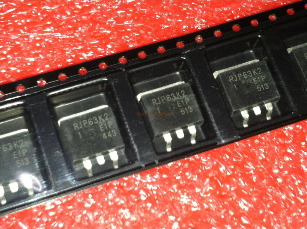 10pcs/lot RJP63K2 TO-263 63K2 TO263 In Stock