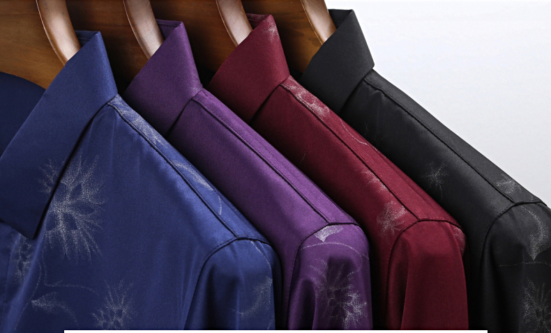 Ha4a55aad52c04870b259049e2fcfad44L 2020 Brand Long Sleeve Men Social Shirt Streetwear Casual Dandelion Shirts Dress Mens Slim Regular Fit Clothes Fashions 80503