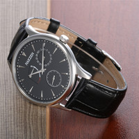Luxury Brand Men Watch Ultra Thin Stainless Steel Clock Man Quartz Sport Watch Men NAKZEN Casual Wristwatch relogio masculino