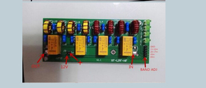 Image 3 - 100W Short wave radio power amplifier Low pass filter LPF HF low pass LPF 3.5Mhz 30Mhz DC 12V Shortwave Ham Radio amplifier