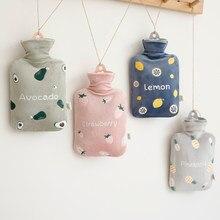 Cubierta De silicona esponjosa para botella De agua caliente, Calentador Kawaii De piel, bonito Calentador, artículos para el hogar, BW50RS