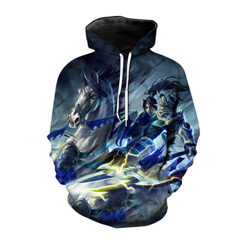 2021 new autumn League of Legends game hoodie 3D printed men's and women's sportswear super hot cool e-sports game jacket jacket 1