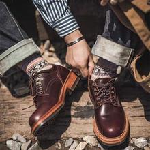 Новая модная роскошная винтажная Мужская обувь в японском стиле;