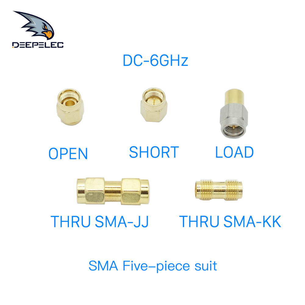 N Male Connector Calibration RF Coax Dedicated Test SMA Type,Include Short Type,Load Type,Open Type,Thru,DC-3GHz /& 6Ghz /& 9Ghz /&13.5Ghz /& 18Ghz,50 ohm 3G