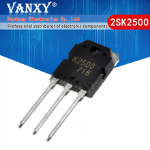 2 adet 2SK2500 TO3P K2500 TO 247 TO 3P transistör
