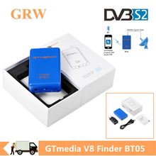 Grwibeou GTMEDIA Freesat V8 Finder BT05 1080P Satfinder DVB S2 satellite finder For Andriod IOS Digital Bluetooth HD Satellite